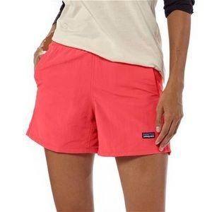 Patagonia pink baggies shorts